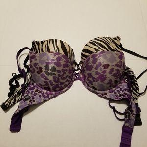 Victoria secret push up bra combo size 32B